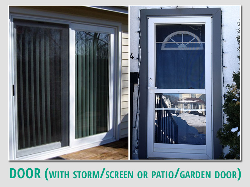 Cleaning Storm Door : Clearview window cleaning